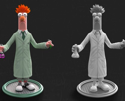 Beaker Character Design